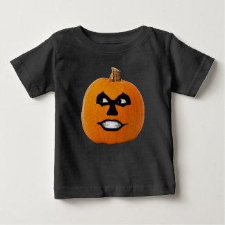 Jack o' Lantern Sinister Face, Halloween Pumpkin Baby T-Shirt