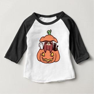 Jack O' Lantern Sloth Baby T-Shirt