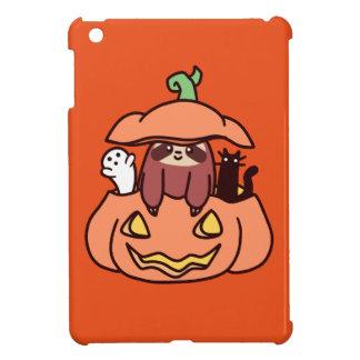 Jack O' Lantern Sloth Cover For The iPad Mini