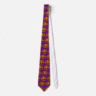 Jack-o'-Lantern Tie