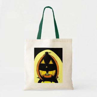 Jack o' Lantern Tote Bag