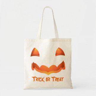 Jack-o-lantern Tote Bag Halloween Pumpkin Bag