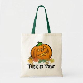 Jack o Lantern Trick or Treat Bag