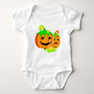 Jack o lanterns baby bodysuit
