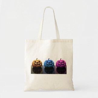 Jack-o'-lanterns Budget Tote Bag