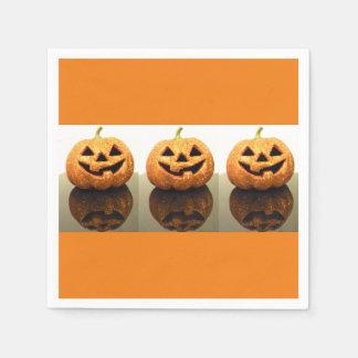Jack-o'-lanterns Paper Napkins