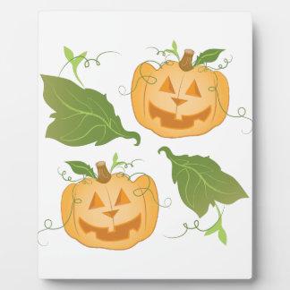Jack O Lanterns Plaque