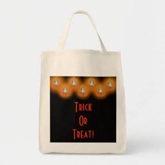 Jack-O-Lanterns Trick OrTreat Bag