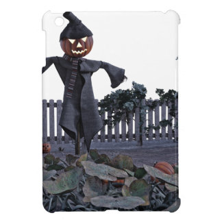 Jack O Scarecrow in a Pumpkin Patch Cover For The iPad Mini