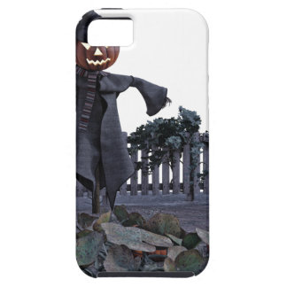Jack O Scarecrow in a Pumpkin Patch iPhone 5 Case
