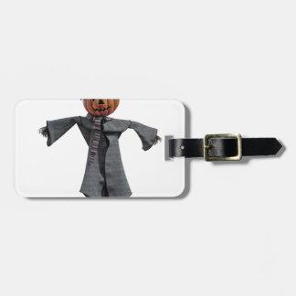 Jack O Scarecrow Luggage Tag
