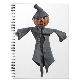 Jack O Scarecrow Notebooks