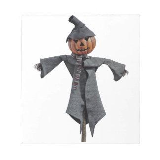 Jack O Scarecrow Notepad