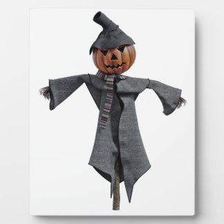 Jack O Scarecrow Plaque