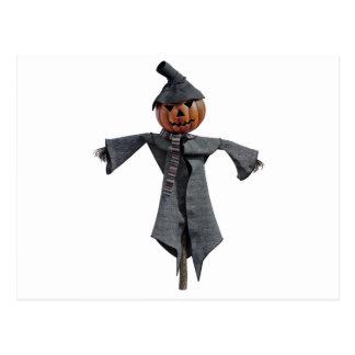 Jack O Scarecrow Postcard