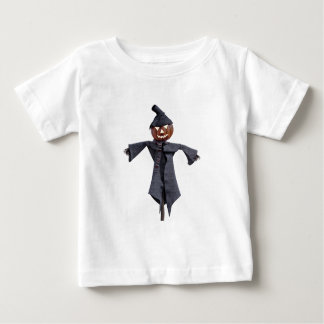 Jack O Scarecrow with Bright Eyes Baby T-Shirt