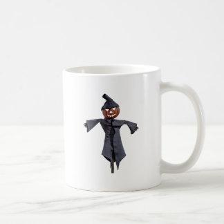 Jack O Scarecrow with Bright Eyes Coffee Mug