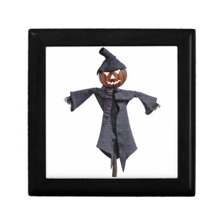 Jack O Scarecrow with Bright Eyes Gift Box