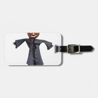 Jack O Scarecrow with Bright Eyes Luggage Tag
