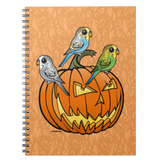 Jack O'Budgies Notebooks