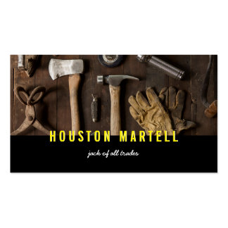 Jack of All Trades Tools Business Card