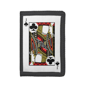 Jack of Clubs - Add Your Image Trifold Wallet