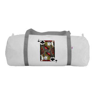 Jack of Clubs Gym Duffel Bag