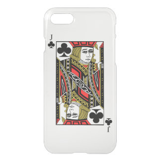 Jack of Clubs iPhone 7 Case