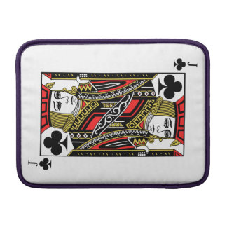 Jack of Clubs Sleeve For MacBook Air