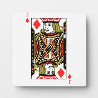 Jack of Diamonds Photo Plaque
