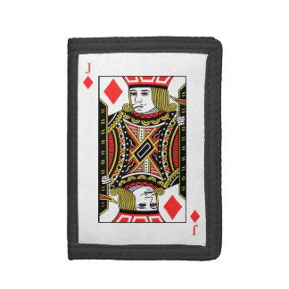 Jack of Diamonds Trifold Wallet