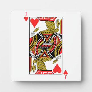 Jack of Hearts - Add Your Image Photo Plaque