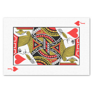 Jack of Hearts Tissue Paper