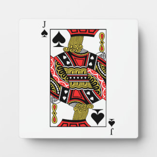 Jack of Spades - Add Your Image Plaque