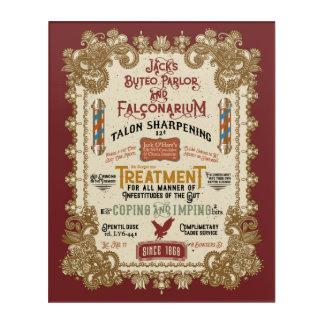 Jack O'Hares Buteo Parlor and Falconarium Acrylic Print