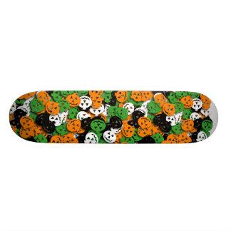 Jack O'Lantern Confetti Skateboard