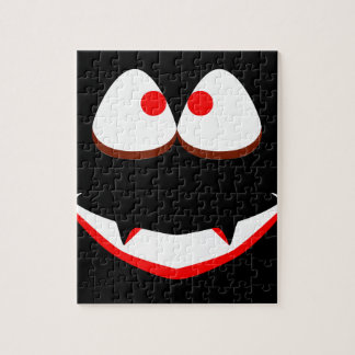 Jack O'Lantern Eyes Jigsaw Puzzle