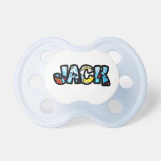 Jack pacifier