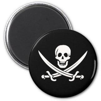 Jack Rackham Pirate Magnet