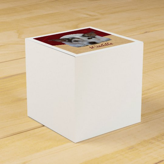 Jack Russel iCuddle Favour Box