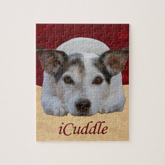 Jack Russel iCuddle Jigsaw Puzzle