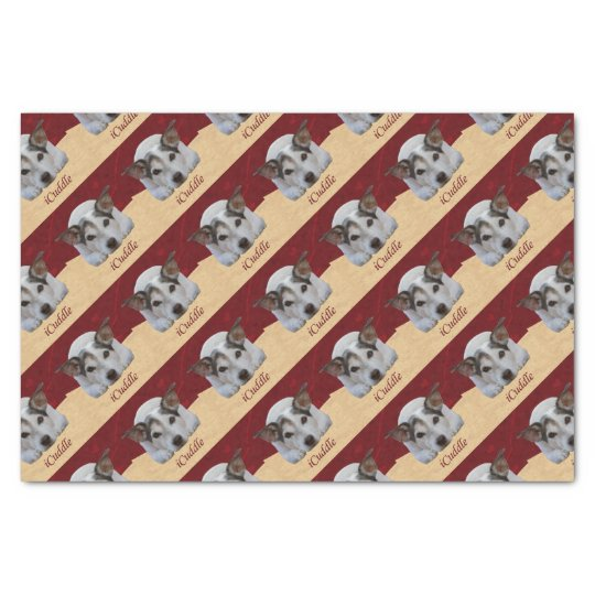 Jack Russel iCuddle Tissue Paper