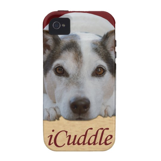 Jack Russel iCuddle Vibe iPhone 4 Covers