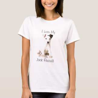 Jack Russel Puppy Photograph T-Shirt