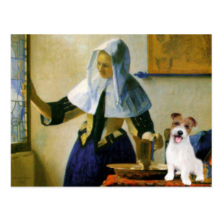 Jack Russell 11 - Woman with Pitcher Postcard