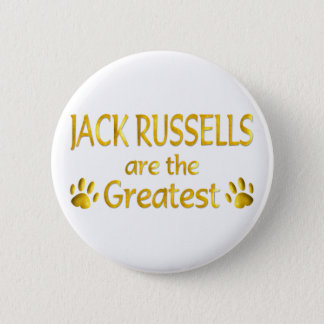 Jack Russell 6 Cm Round Badge