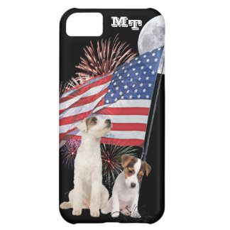 Jack Russell Awesome Patriotic Design iPhone 5C Case