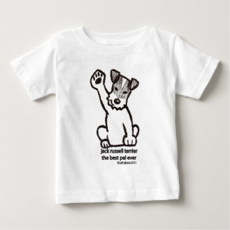Jack Russell Best Pal Baby T-Shirt