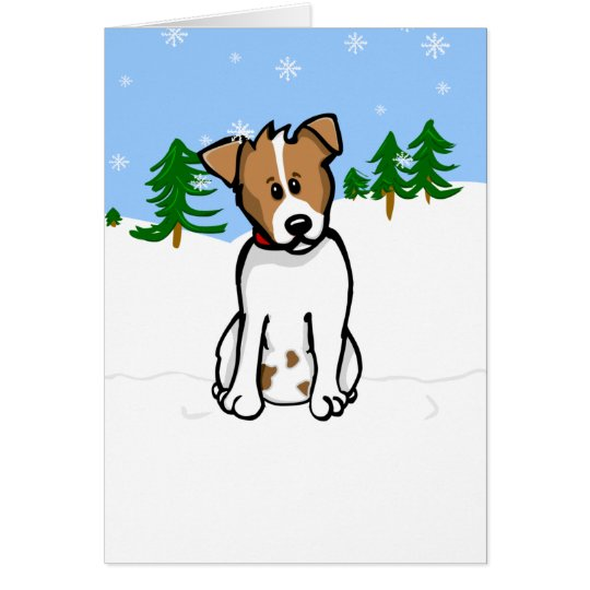 Jack Russell Card - add your own greeting