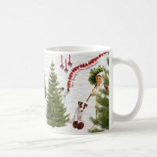 Jack Russell Have Yourself a Merry Christmas Mugs